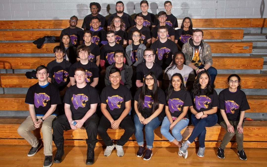 LHS robotics team PANTHERBOTS: STATE BOUND!