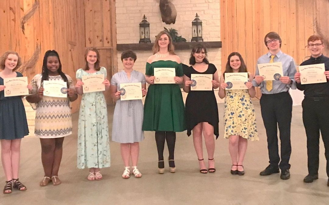 Eleven LHS students earn statewide music award