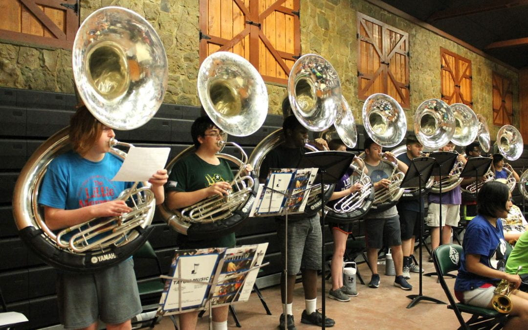 LHS is in the House! Band Camp 2019 (photos)