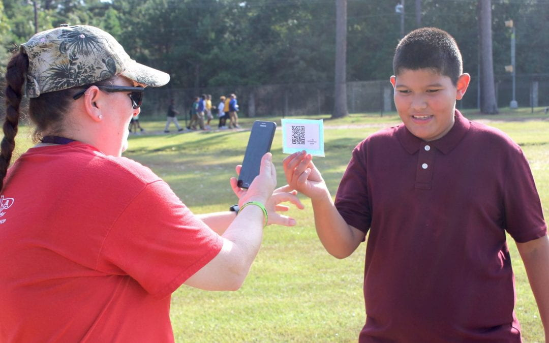 Anderson Eagles PE class goes digital