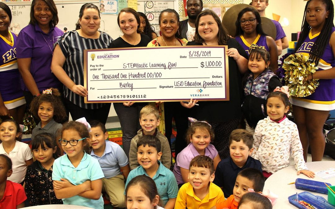 Lufkin ISD Education Foundation Grant Patrol: Bigger and better than ever!!