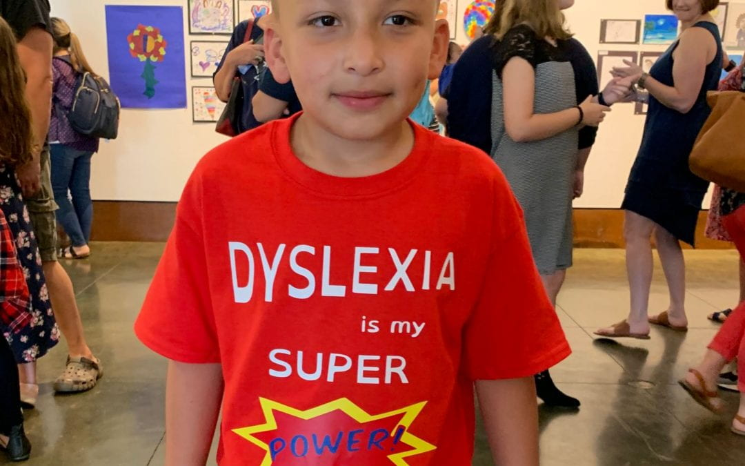 Dyslexia Showcase a HUGE hit at the MET