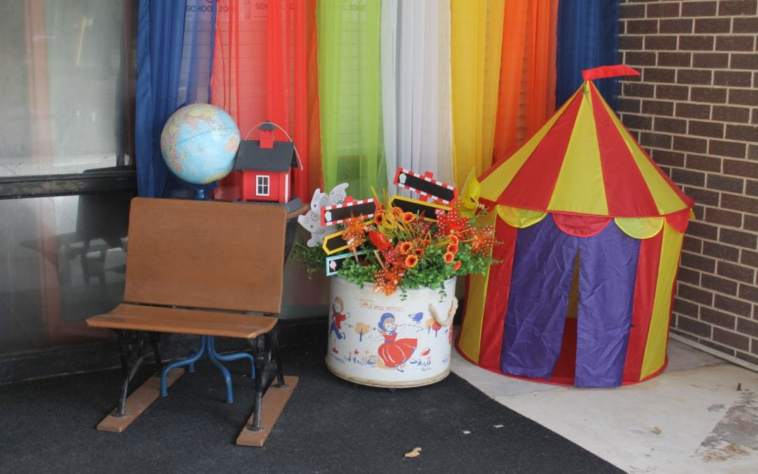 'Under the Big Top' theme creates a great place to learn at Brookhollow