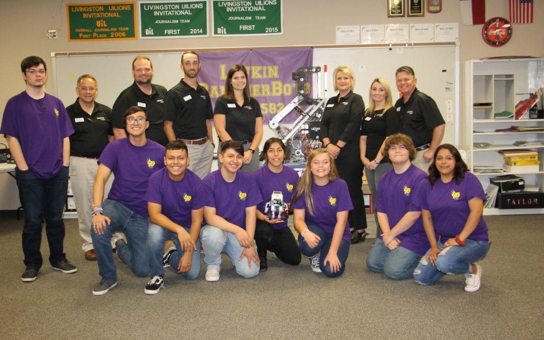 Leadership Lufkin visits Lufkin High School