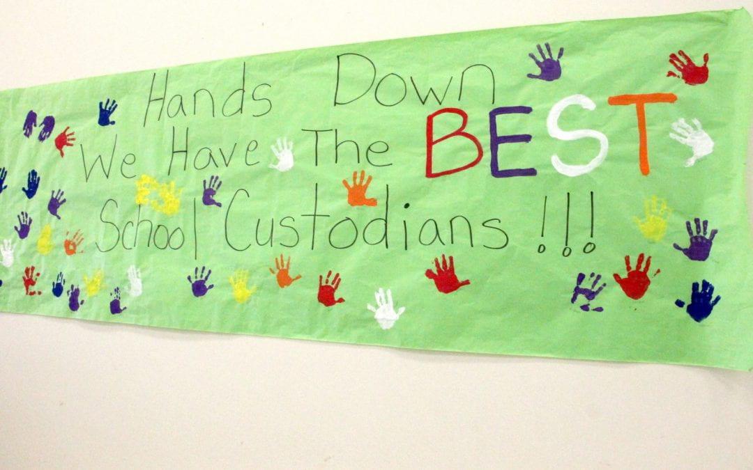 We LOVE our Lufkin ISD Custodians!!