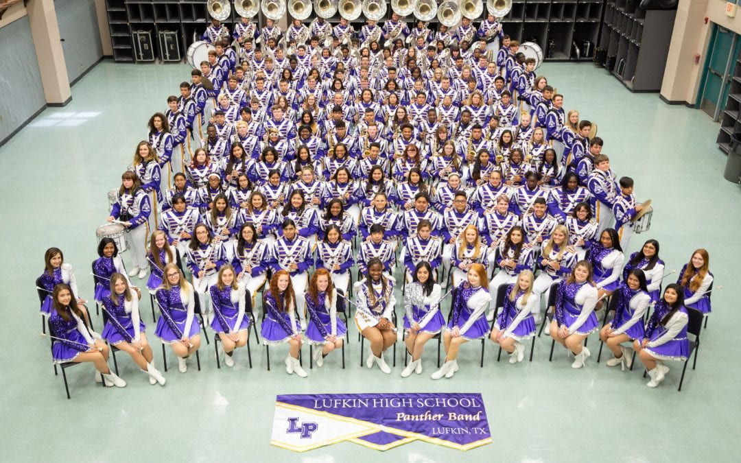 Lufkin Panther Band received top honors at NAMMB!