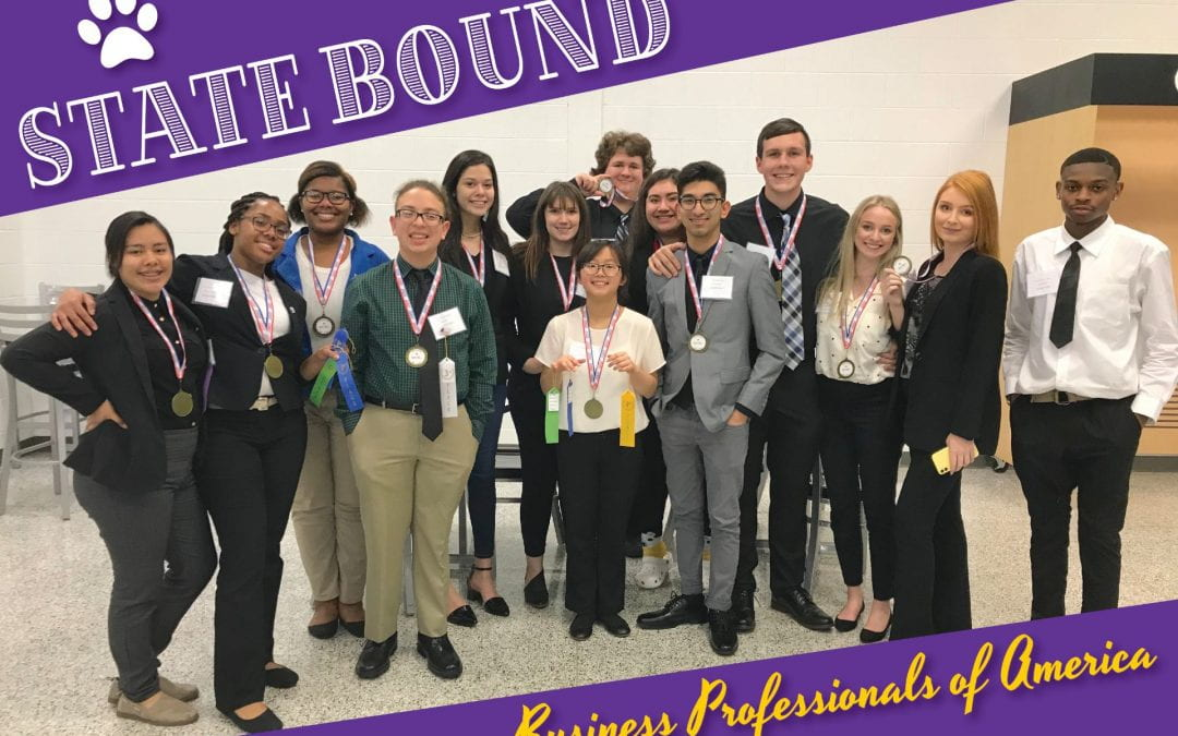 LHS BPA students are STATE BOUND!