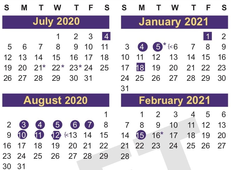 Weigh in on 2020-2021 Proposed School Calendar