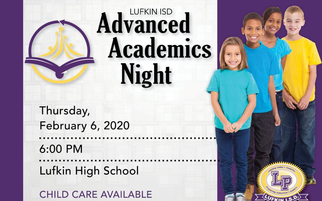 Advanced Academics Night slated for Thursday night