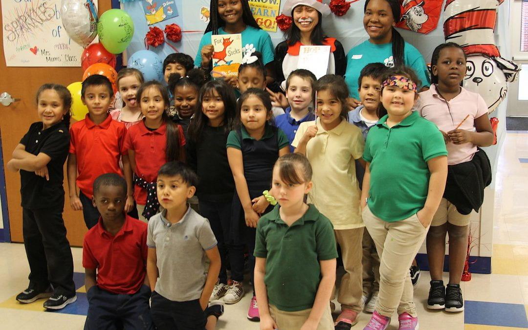 Herty Primary celebrates Dr. Seuss's Birthday & Read Across America