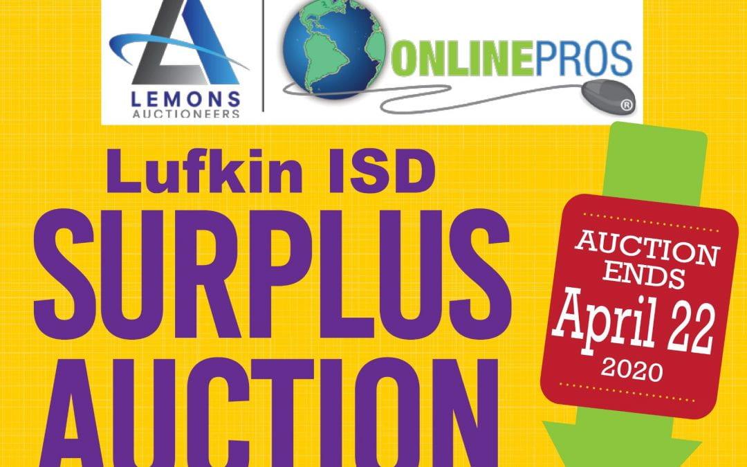 Lufkin ISD hosting Online Surplus Auction