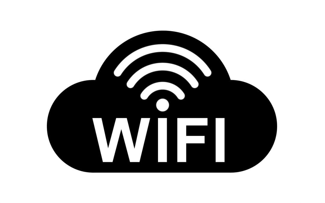 Students can use free WiFi in the LHS parking lot