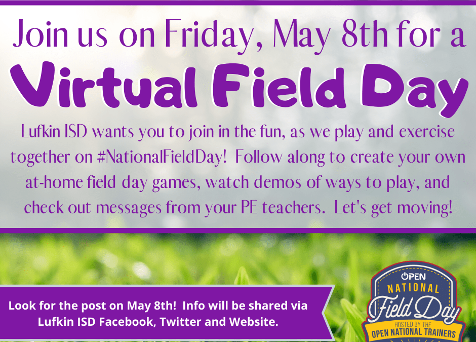 Virtual Field Day on Friday!