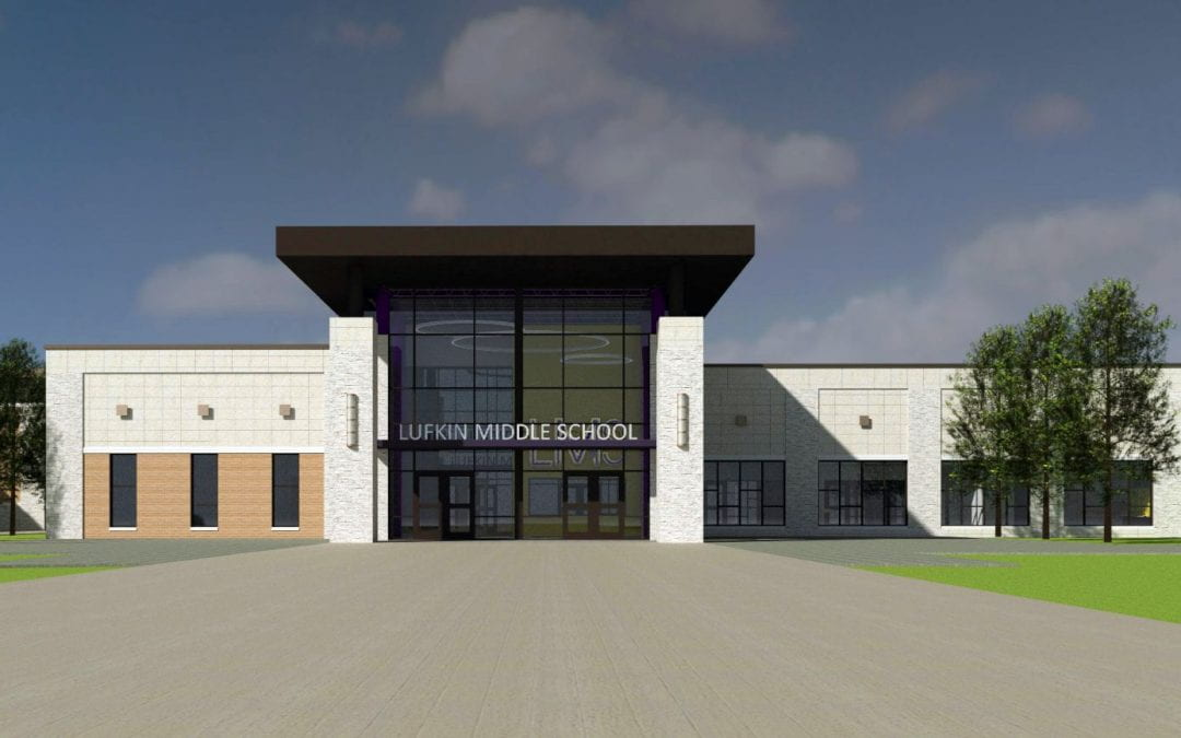 Board approves Lufkin Middle School Guaranteed Maximum Price: Ready to break ground at LMS