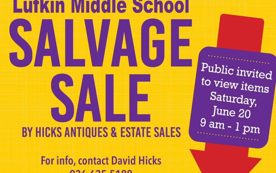 LMS Salvage Sale