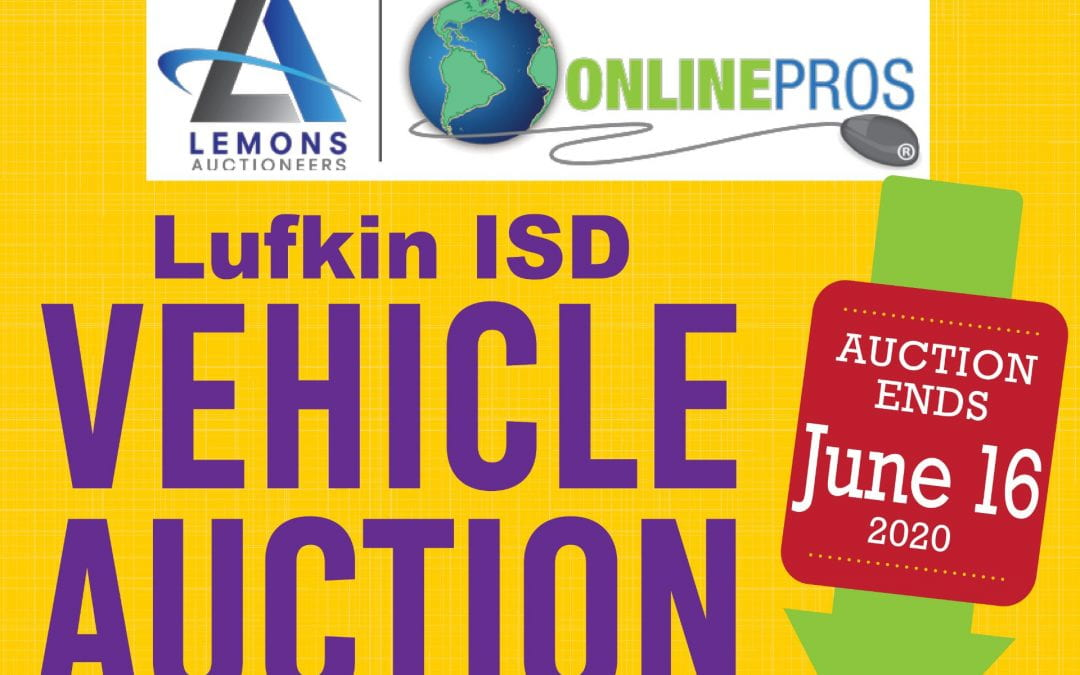 Lufkin ISD Vehicle Auction now open for bids
