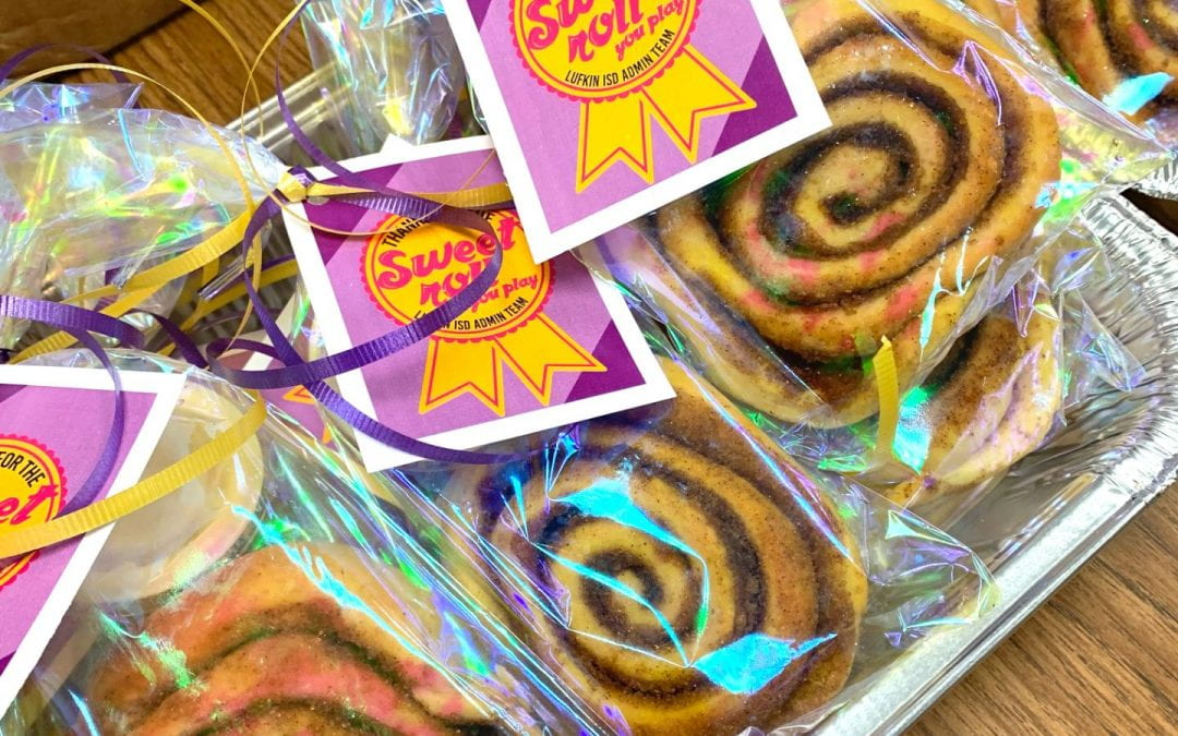 """LISD Nurses: Thanks for the """"Sweet Roll"""" you play for our staff & students!"""