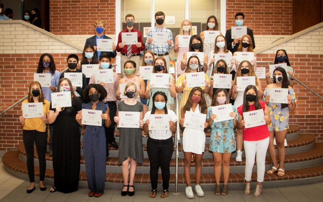 7th SFASU STEM Academy inducts 31 Lufkin High School students