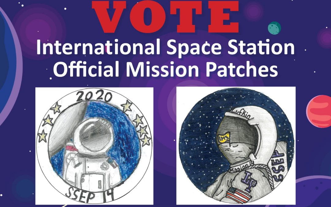 VOTE for Lufkin ISD student mission patches