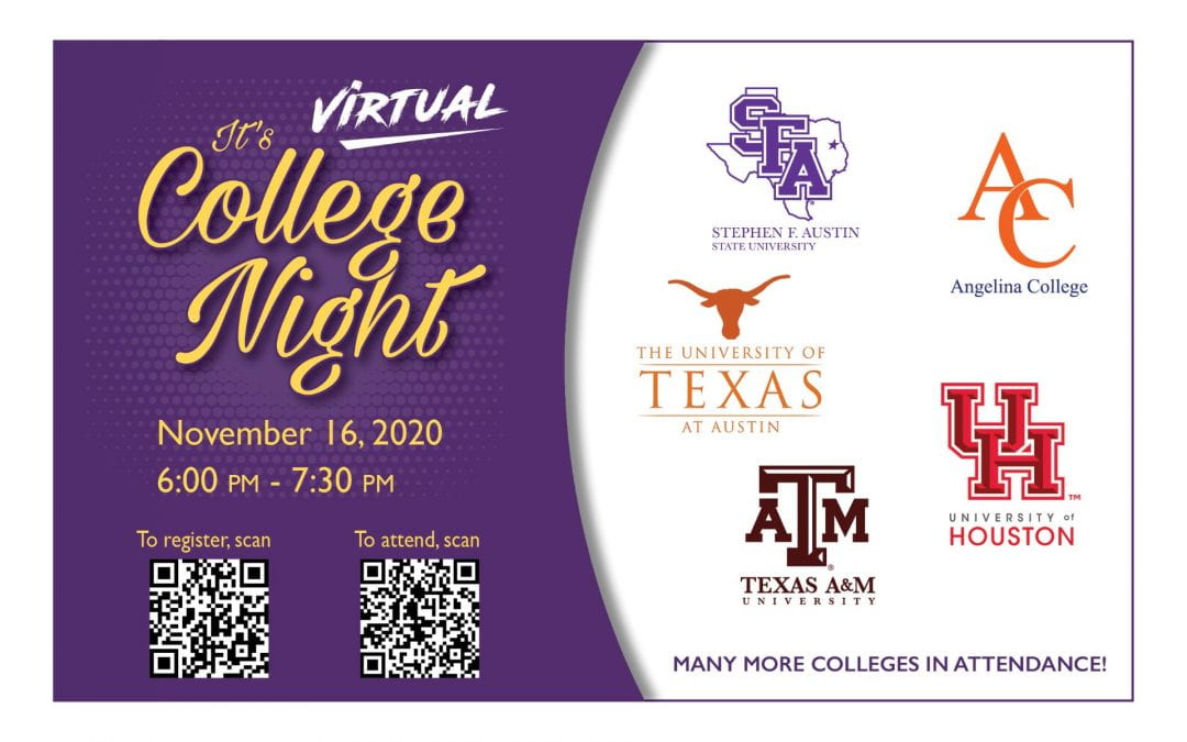 Virtual College Night planned for LHS students