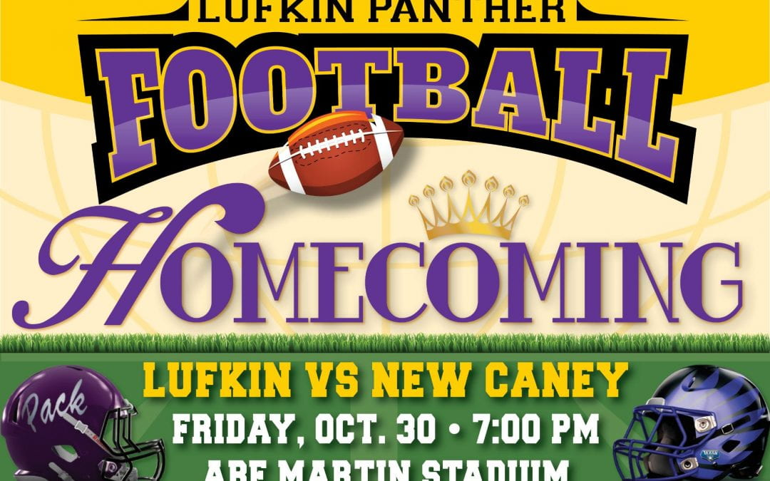 HOMECOMING Friday night – purchase tickets or watch live!