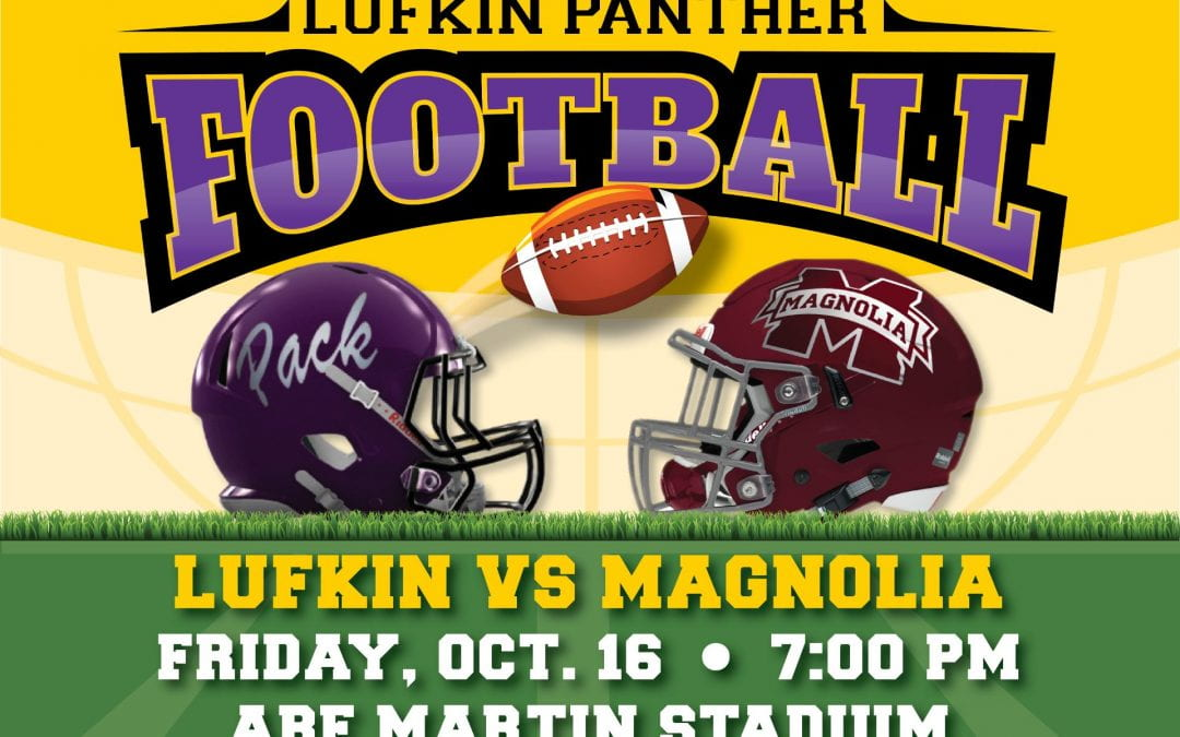 Lufkin Panthers first home game tickets available on Wednesday