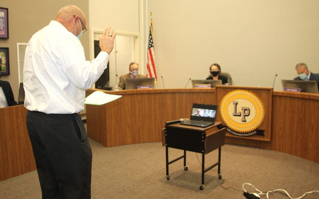 Board members sworn in at November school board meeting