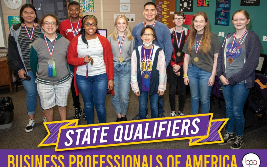 Business Professionals of America state qualifiers compete virtually next week
