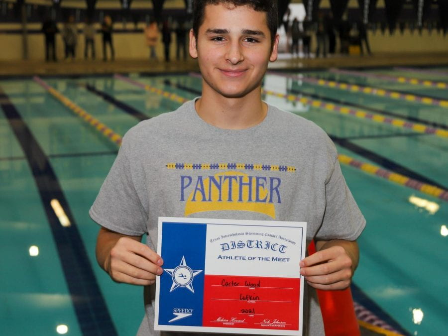 LHS junior Carter Wood heading to State Diving Competition this weekend