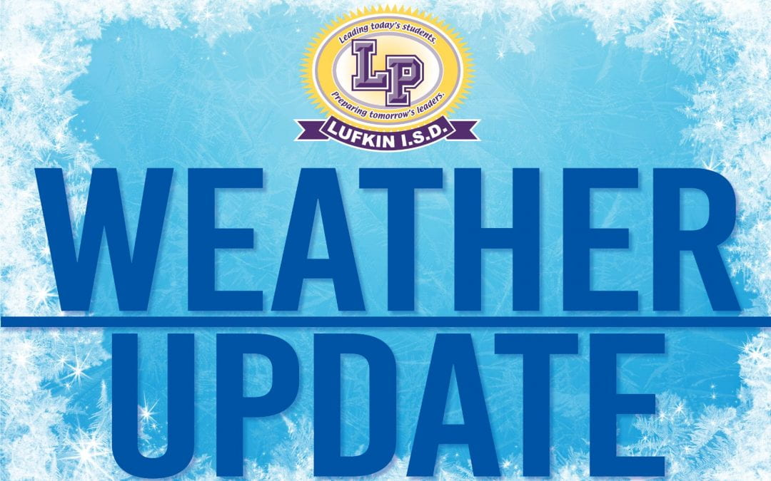 Lufkin ISD cancels school Monday due to storm damage