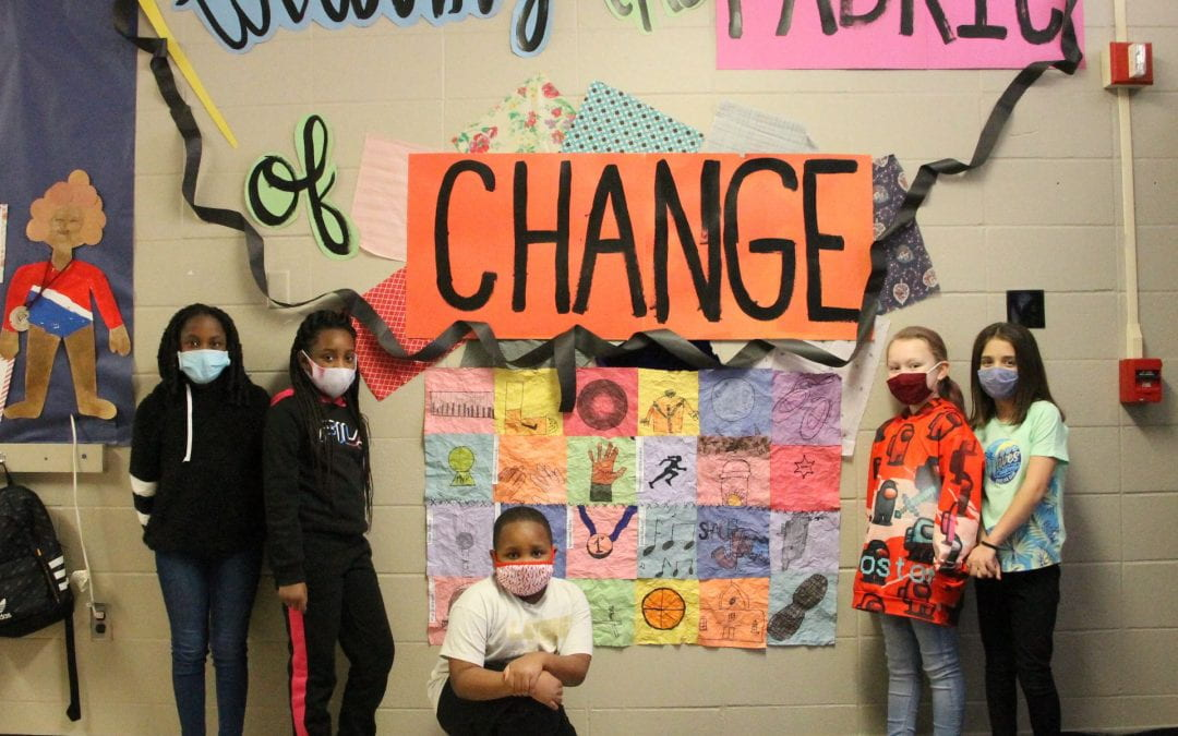 Brookhollow Elementary transforms campus for Black History Month