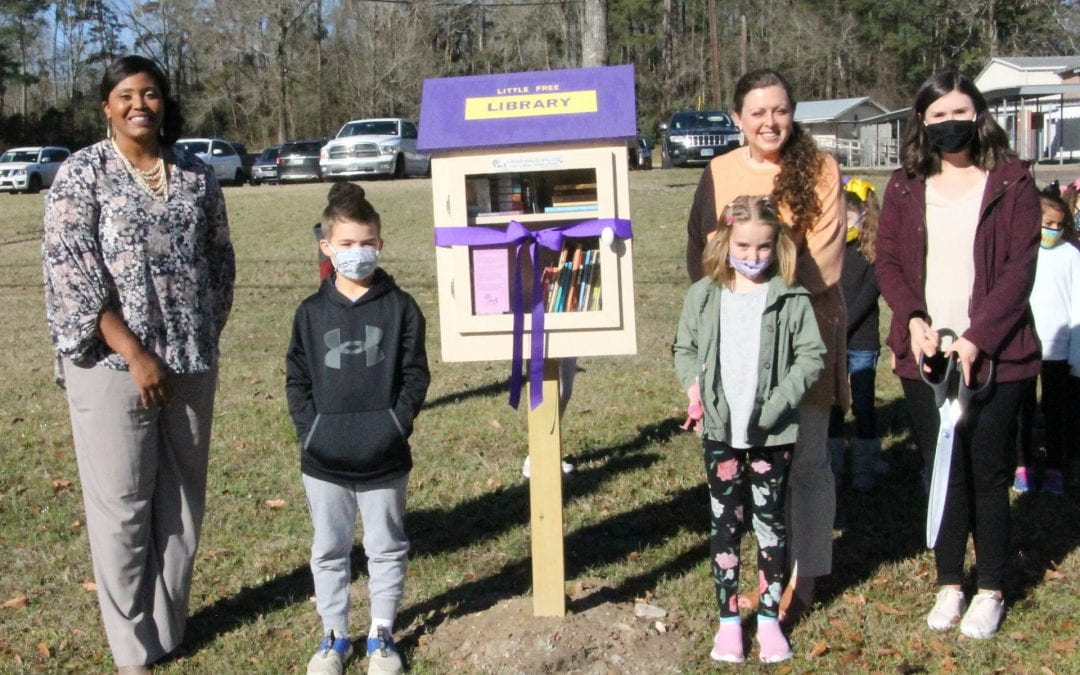 Little Free Library NOW OPEN at Dunbar Primary
