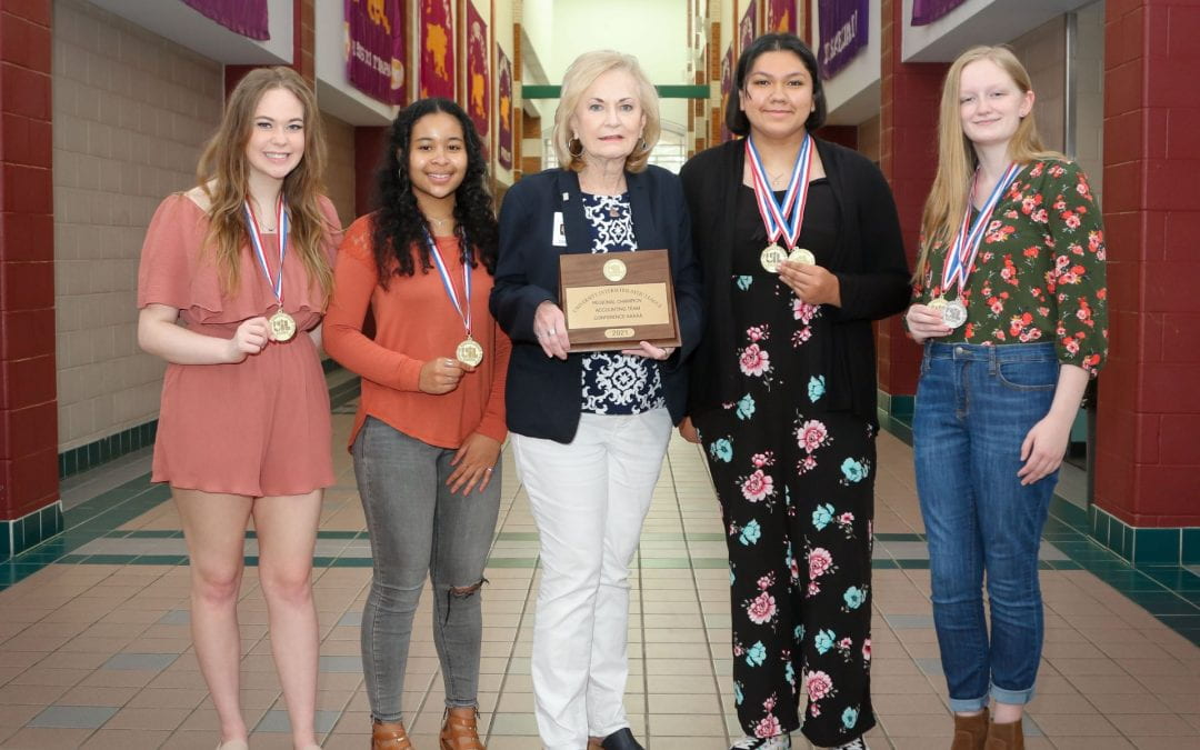 Accounting team back to UIL state competition
