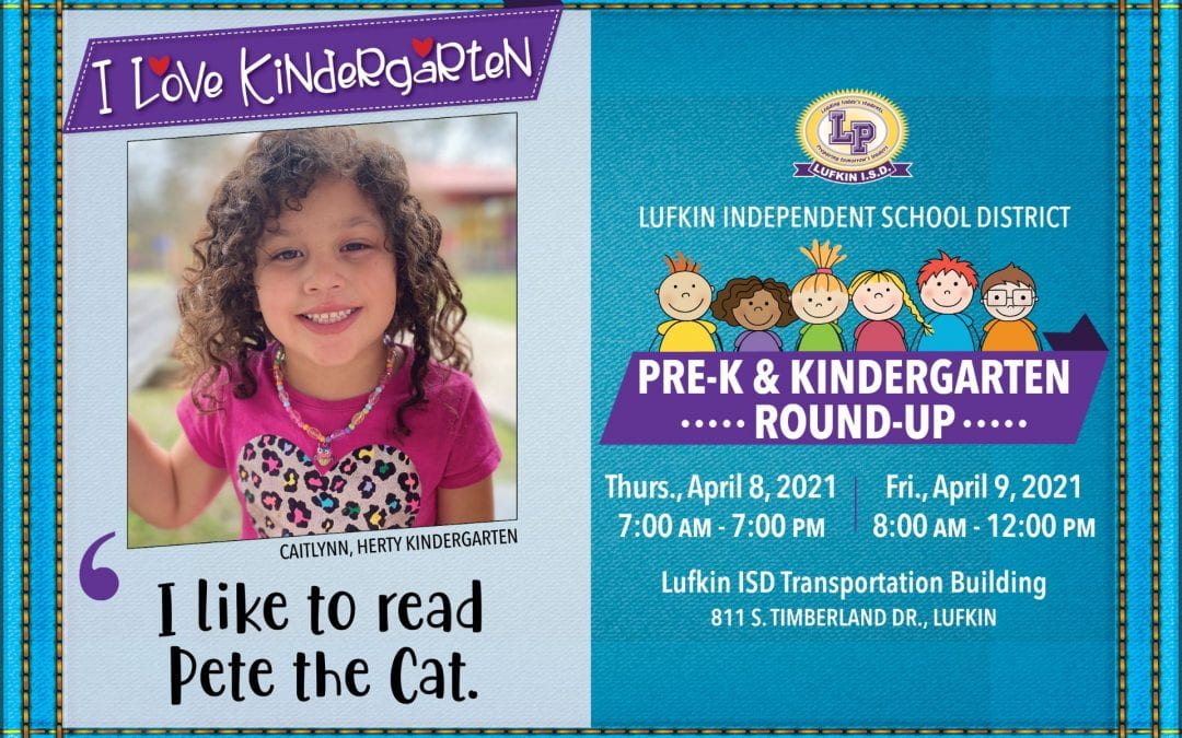 Pre-K and Kinder Round-Up is THE PLACE TO BE!!