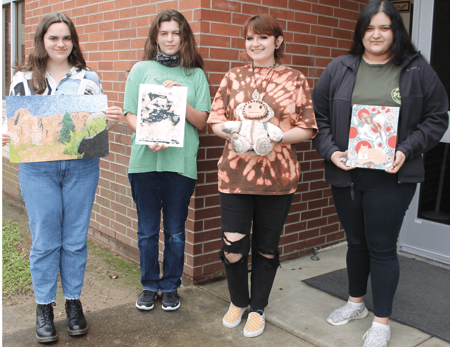 LHS students' art pieces chosen for State of Texas High School Art Show