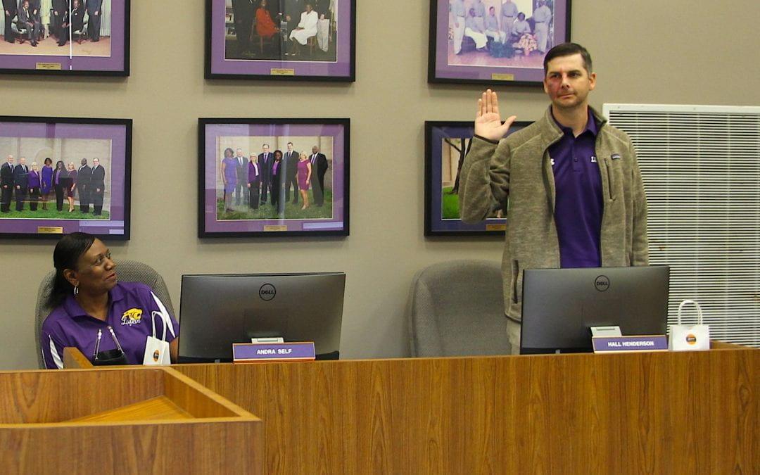 Hall Henderson named Lufkin ISD School Board President