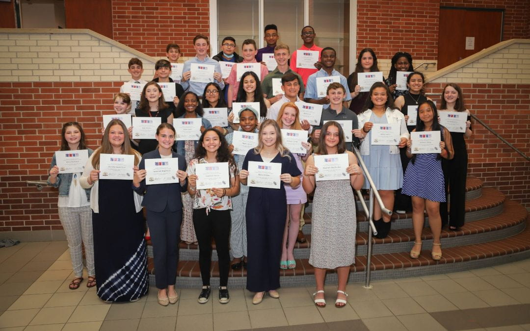 Thirty-two students inducted into 8th cohort of the SFASU STEM Academy