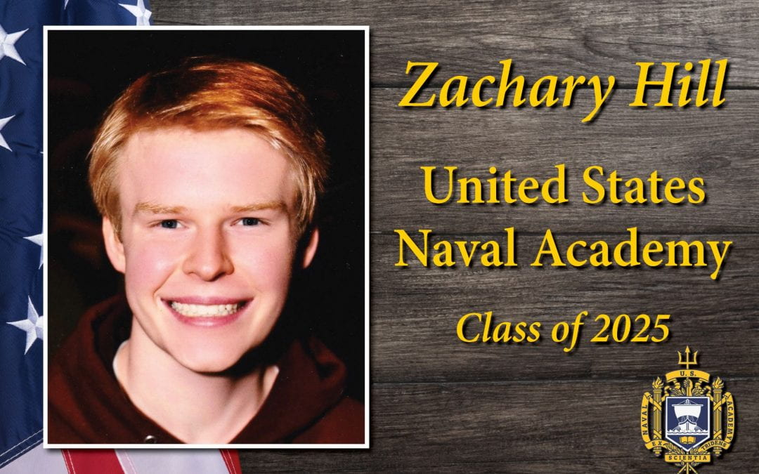 2020 LHS grad inducted into United States Naval Academy