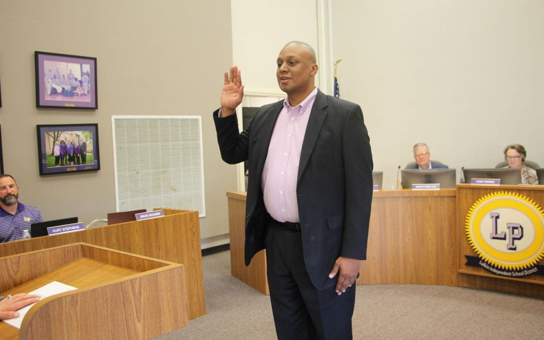 Joseph Ceasar appointed to the board at June school board meeting