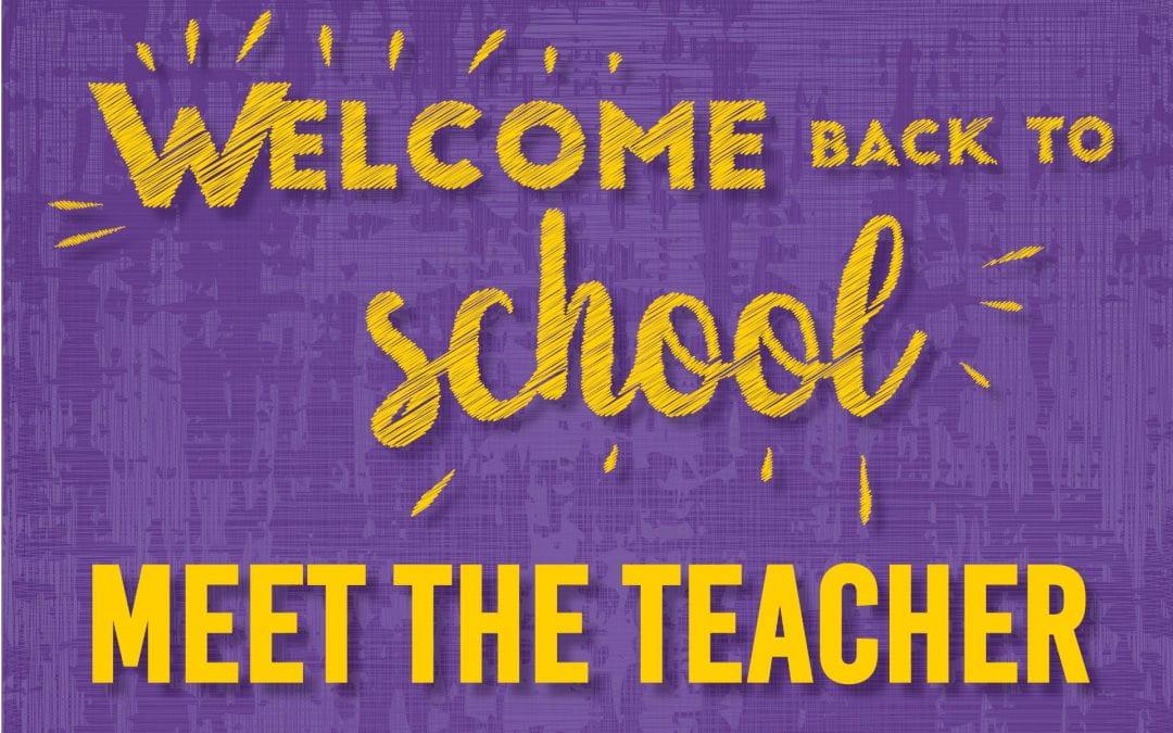 Meet the Teacher dates and times