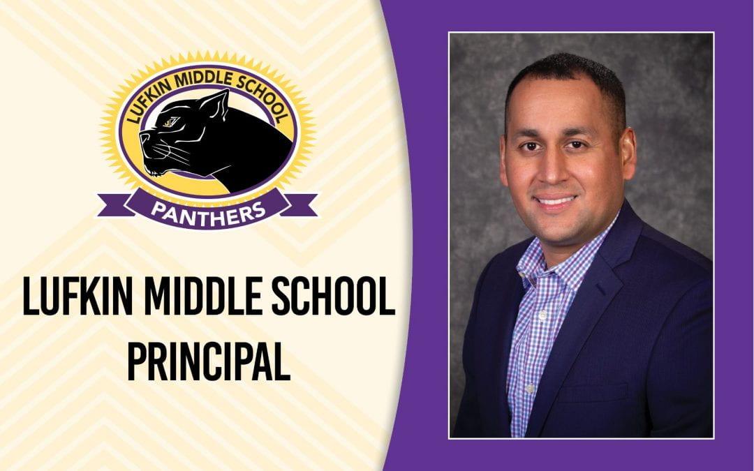 Andres Mijares named Lufkin Middle School principal