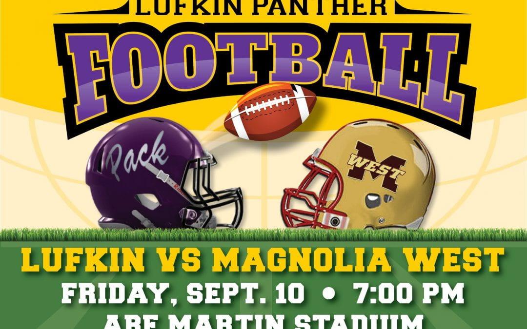 Friday night lights: Lufkin vs. Magnolia West