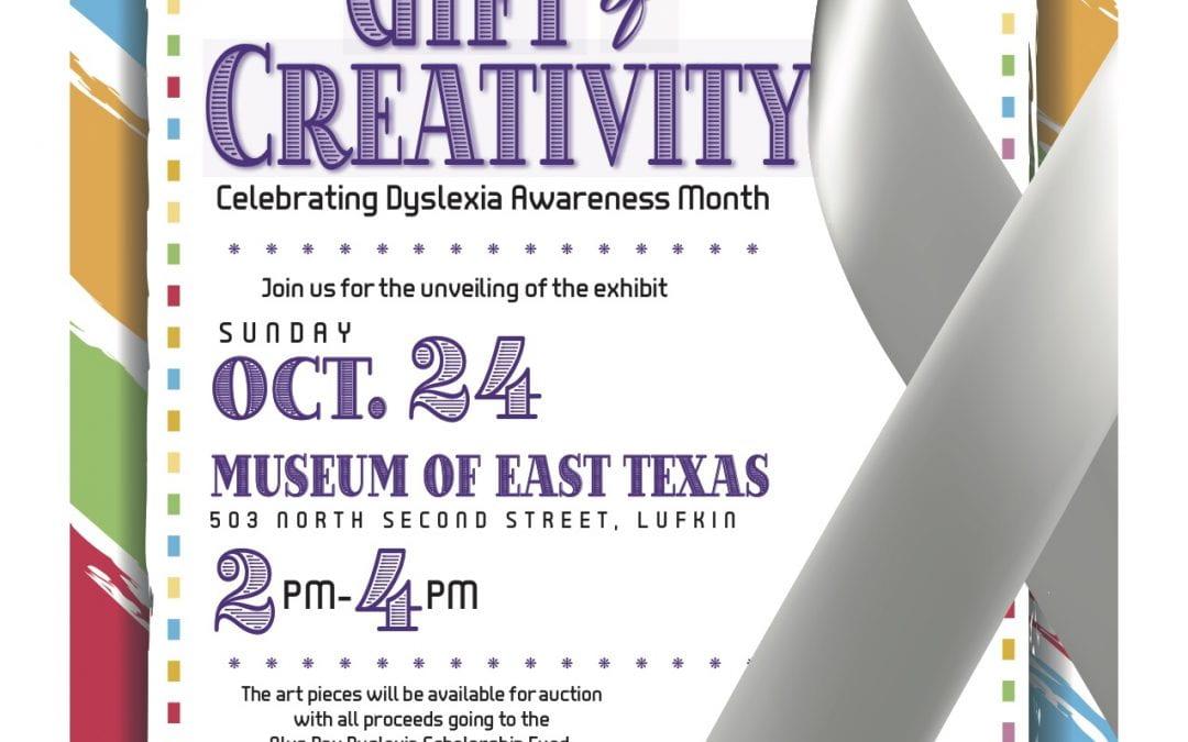 Dyslexia Awareness Art Showcase at the MET