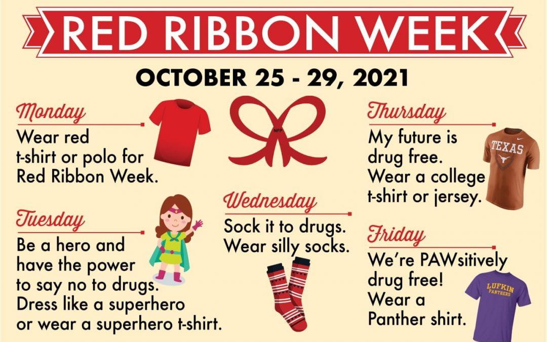 Red Ribbon Week: Celebrating a drug-free lifestyle