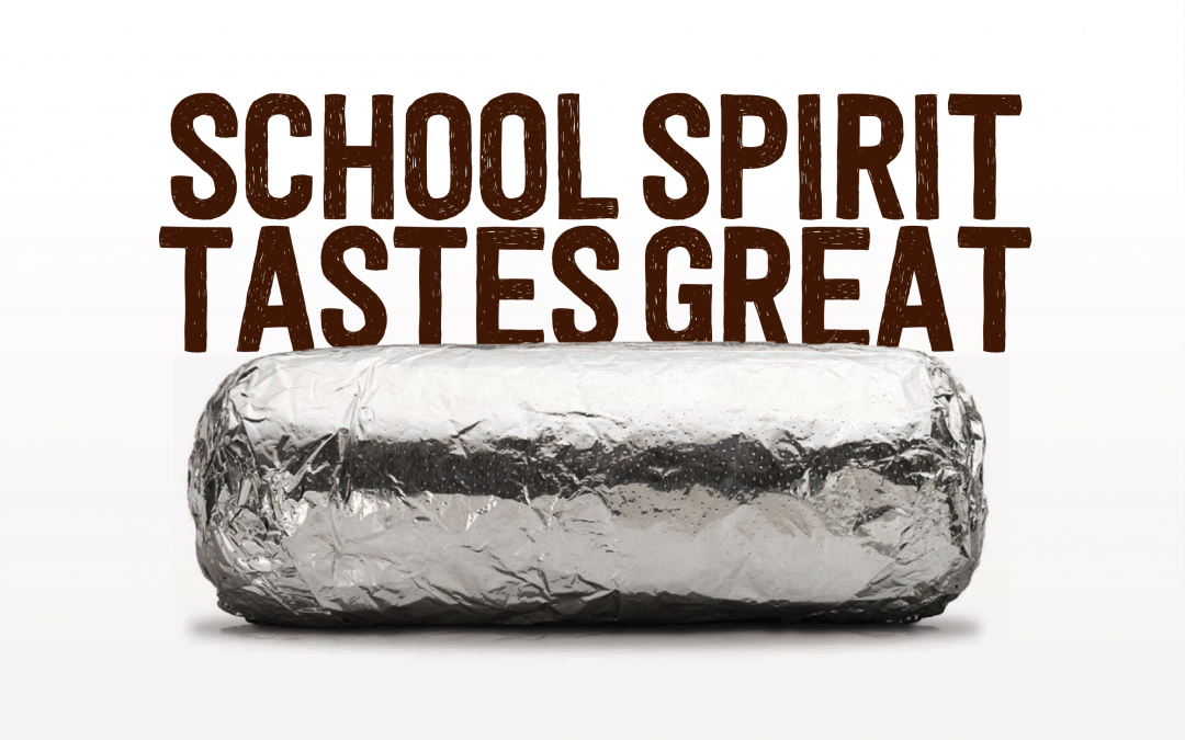 Bring this flyer to Chipotle on night of Sept. 21 to support Burley Primary