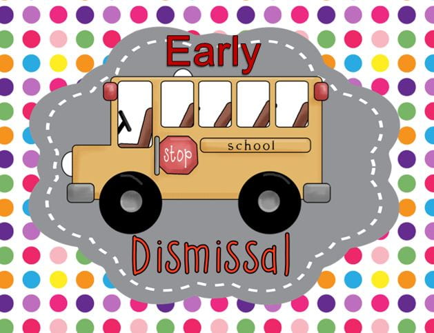 Early Dismissal September 25th at 12:00