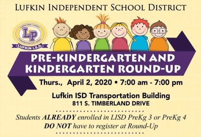 Pre- K Round- Up April 2nd