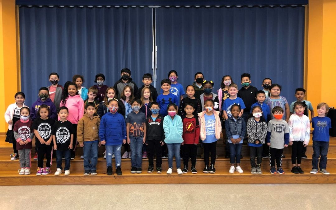 Super Bobcats for the second nine weeks!