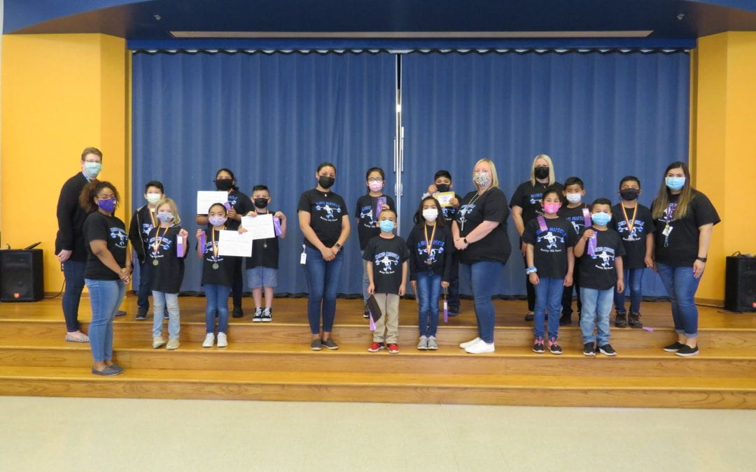 Congratulations 2nd Grade UIL Participants