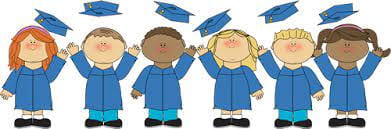 Save the date for our kindergarten graduation ceremonies!